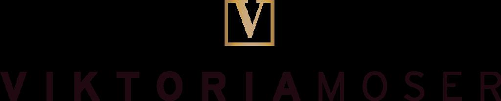 Viktoria Moser Logo in rosegold