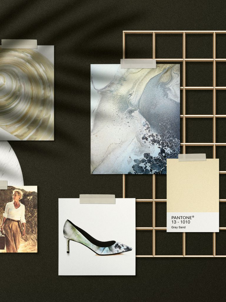 Moodboard - Viktoria Moser Fashion - Pumps in nature inspired look and feel - vegan shoes